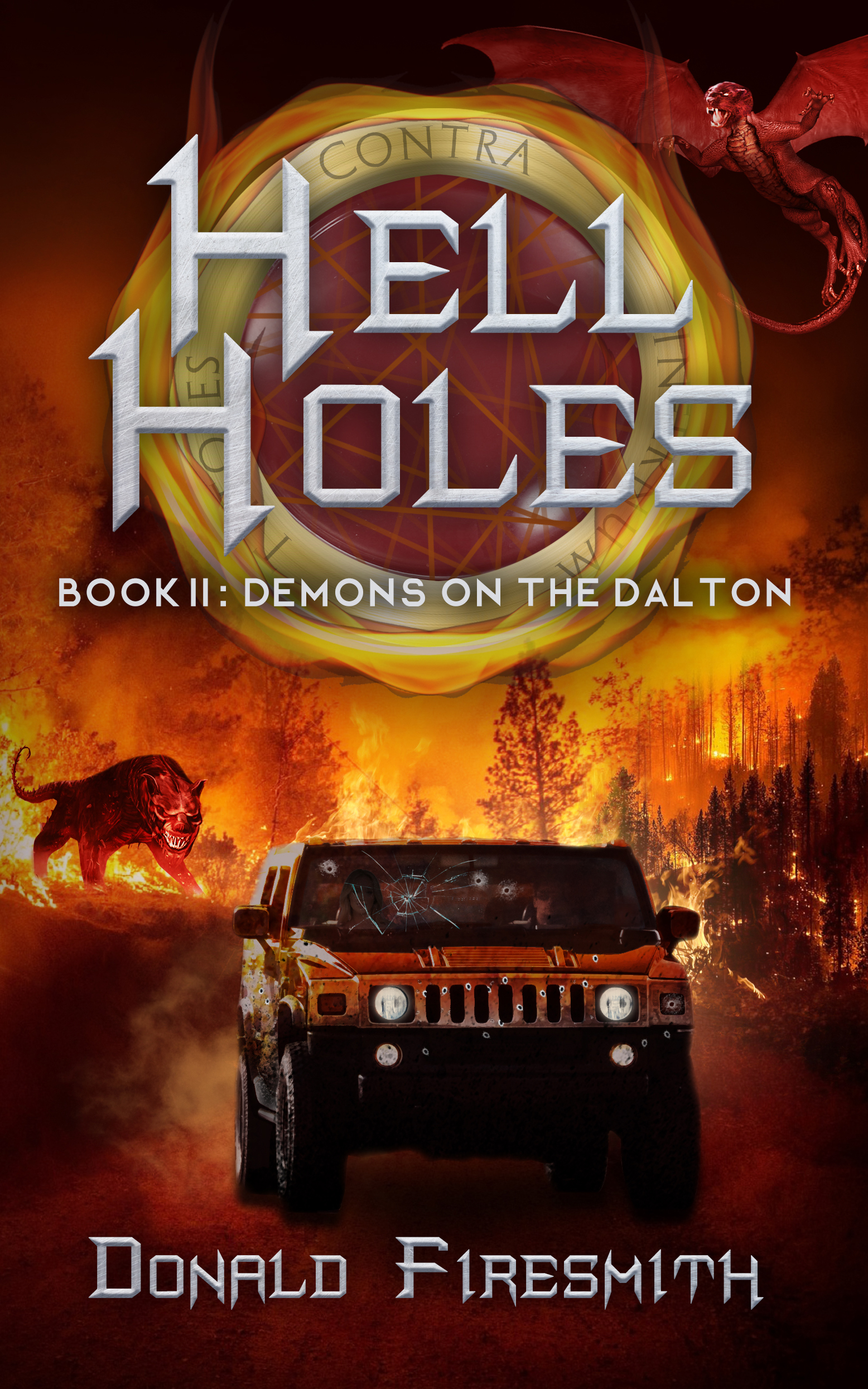 The front cover of Hell Holes: Demons on the Dalton