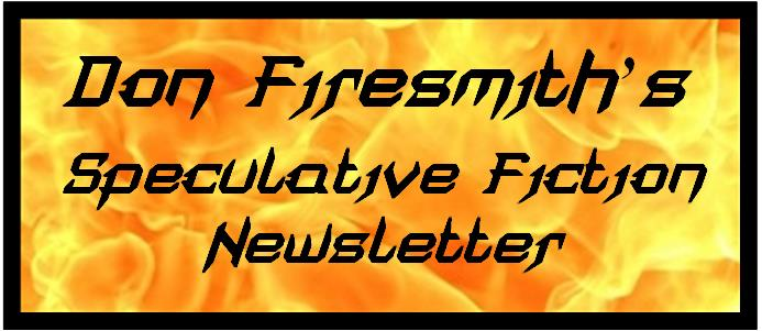 Firesmith's Speculative Fiction Newsletter Banner