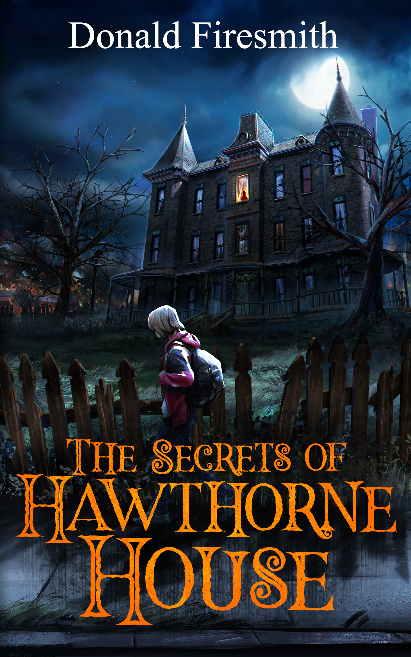 Front Cover of The Secrets of Hawthorne House