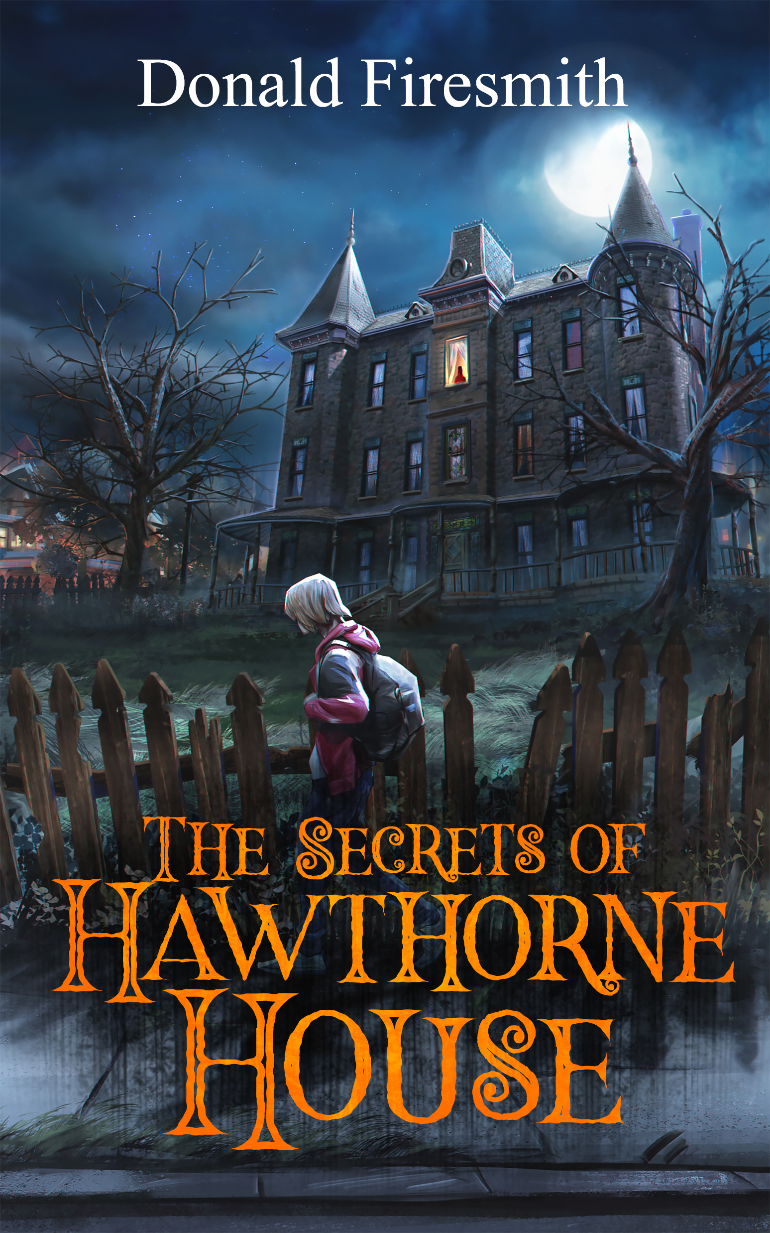 The Front Cover of The Secrets of Hawthorne House
