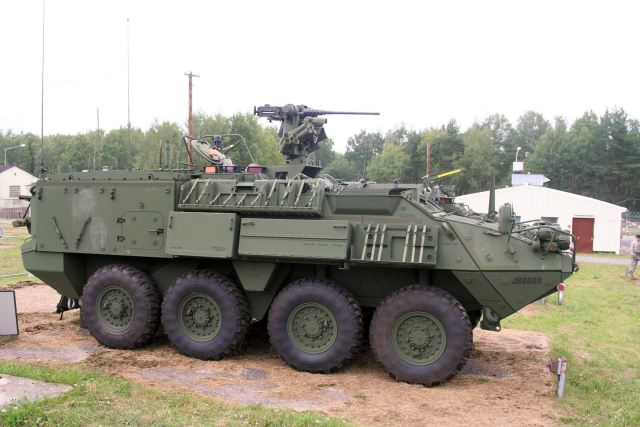 Stryker Armored Personnel Carrier