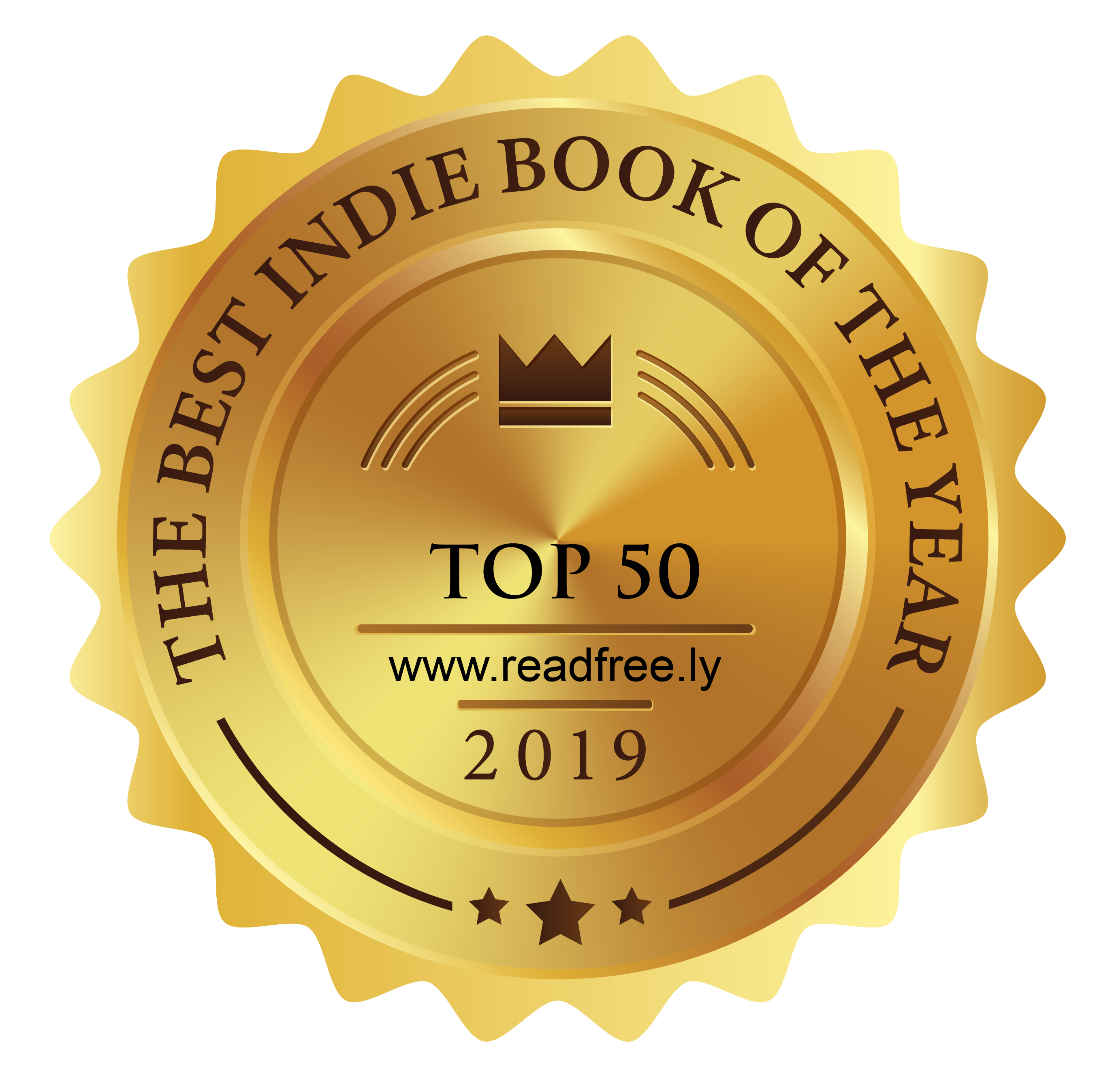 ReadFREE.ly's Top 50 Indie Books of 2019 - Third Place