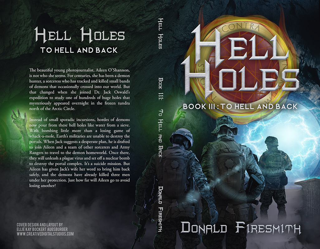 The cover of Hell Holes 3.