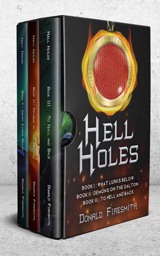 Book Cover of the Hell Holes Bundle