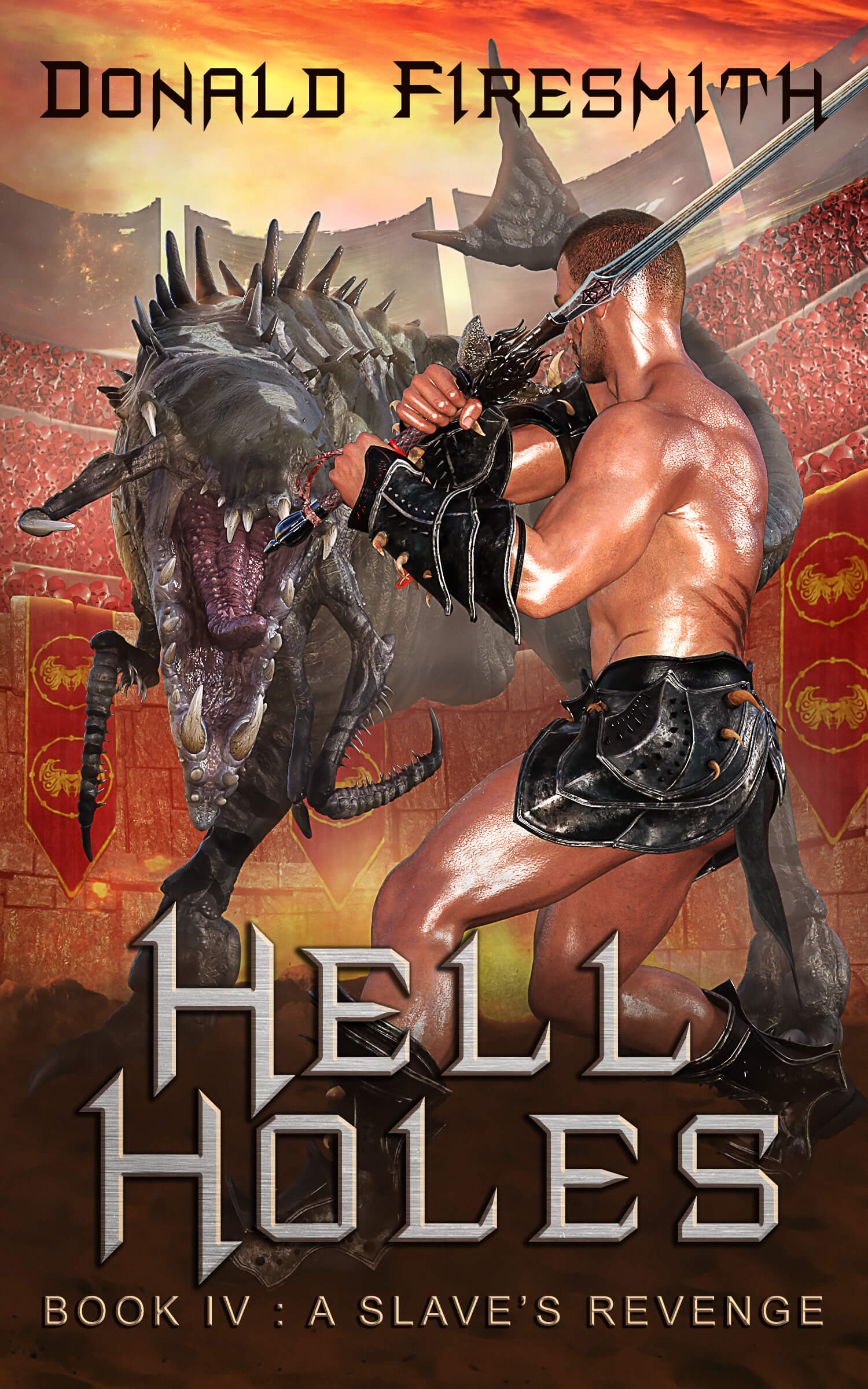 Book Cover of Hell Holes 4: A Slave's Revenge